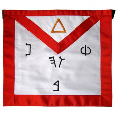 Masonic Fraternal Scottish Rite 6th Degree Intimate Secretary Regalia Apron