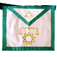 Masonic Fraternal Scottish Rite Apron 8th Degree