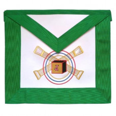 Masonic Scottish Rite Leather Apron  AASR  5th Degree