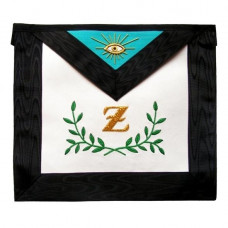 Masonic Scottish Rite Masonic Apron AASR  4th Degree  Sprig of Acacia