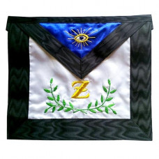 Masonic Scottish Rite Satin Apron  AASR  4th Degree  Acacia