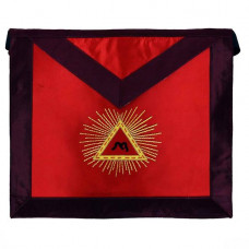 Masonic Scottish Rite Satin Apron AASR 13th Degree