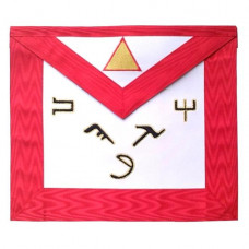 Masonic Scottish Rite Leather Apron AASR 6th Degree