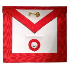 Masonic Scottish Rite Leather Apron AASR 7th Degree