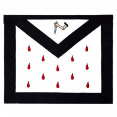 Scottish Rite 9th Degree Silk Apron