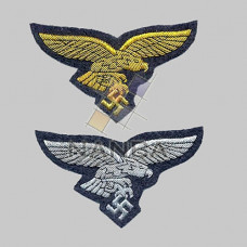 Luftwaffe Embroidered Eagle Badges