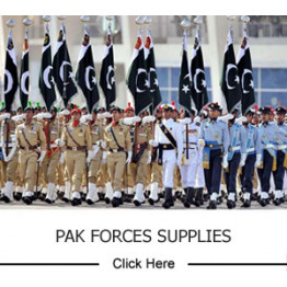 Pak Forces Supplies
