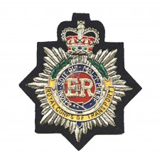 ROYAL CORPS OF TRANSPORT EMBROIDERED POLICE BADGE