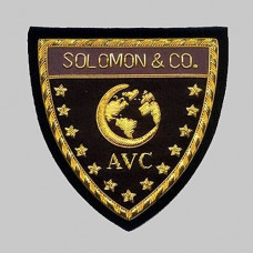 Hand Embroided Badge