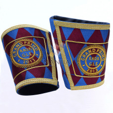 Regalia Gauntlet With Embroidery