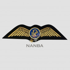Bullion Embroidered Wing