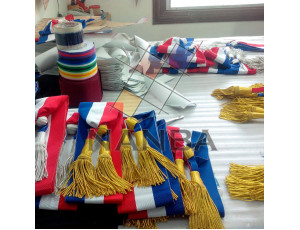 French Ceremonial Sashes