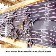 German Cuff Titles Production