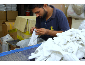 Gloves Production (Threading and Checking)
