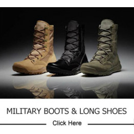 Military Boots / Long Shoes